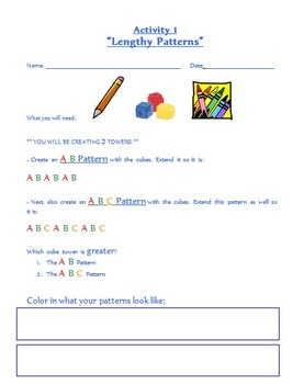 Pattern Activity Worksheet
