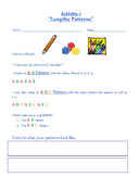 Pattern Activity Worksheet