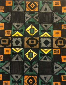Pattern & African Kente Cloth by Danica Papali | TpT