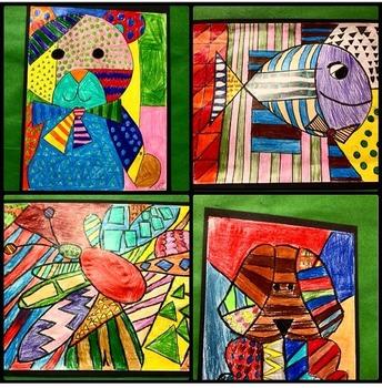 Pattern Art Inspired by Artist Romero Britto