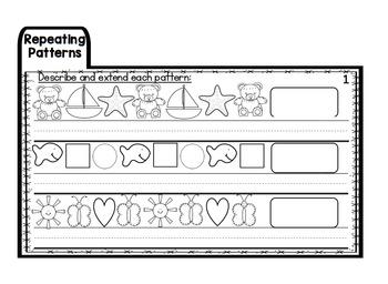 Pattern Assessment Flap Booklet