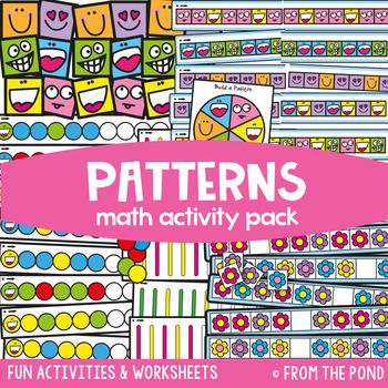 Pattern Awareness {Math Activities Pack #13} Math Games and Centers