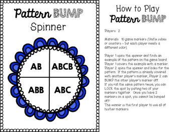 Pattern BUMP Game