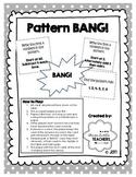 Pattern Bang - Math Game