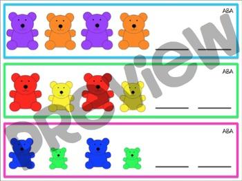 Pattern Bear Strips