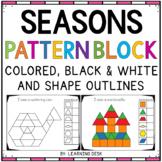 Pattern Block Templates (Fine Motor Skill Activities)