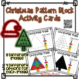Pattern Block Activity Cards - Christmas