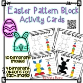 Pattern Block Activity Cards - Easter