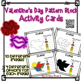 Pattern Block Activity Cards - Valentine's Day