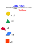 Pattern Block Addition Activity