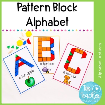 Pattern Block Alphabet