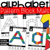 Pattern Block Alphabet Letter Mats - Fine Motor Fun!