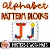 Pattern Block Alphabet Letters