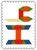 Pattern Blocks - Alphabet Practice