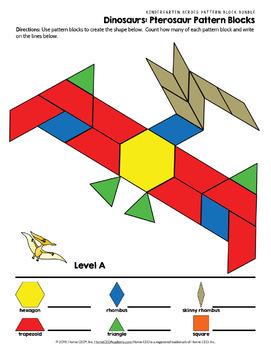 Pattern Block Mats Bundle