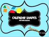Pattern Block Calendar & Centers