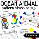 Pattern Block Centers   Ocean Theme  
