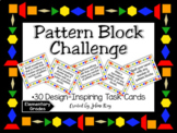 Makerspace: Pattern Block Challenge Task Cards