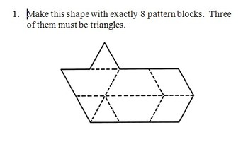 Pattern Block Command Cards