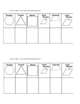 Pattern Block Count