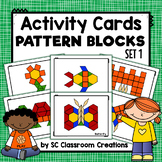 Pattern Block Design Cards (Task Cards)