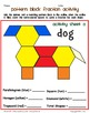 Pattern Block Fraction Activity