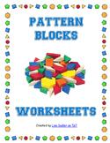 Pattern Block Fun Worksheets
