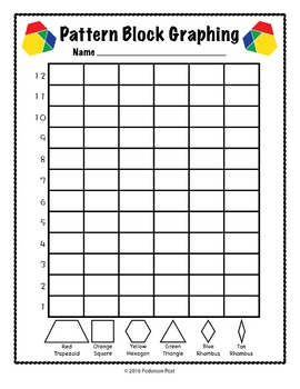 Pattern Block Graphing Unit