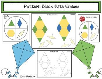 Pattern Block Kite Games