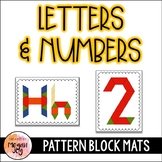 Pattern Block Letters & Numbers