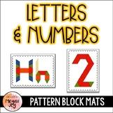 Pattern Blocks - Building Numbers & Letters