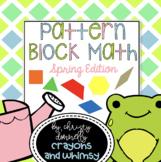 Pattern Block Math {Spring Edition}
