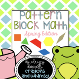 Pattern Block Math {Spring Edition}