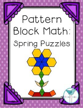 Pattern Block Math: Spring Puzzles