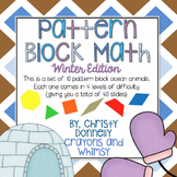 Pattern Block Math {Winter Edition}