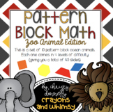 Pattern Block Math {Zoo Animal Edition}