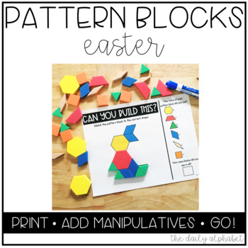 Pattern Block Mats (Easter)