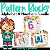 Pattern Block Mats: Letters & Numbers Mini Bundle