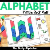 Pattern Block Mats (The Alphabet)