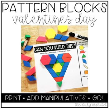 Pattern Block Mats (Valentine's Day)