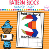 Pattern Block Number Cards