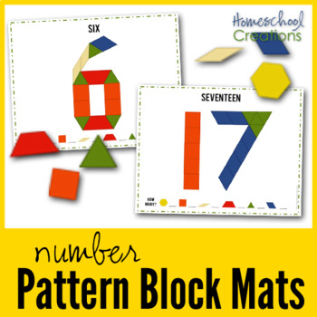 Pattern Block Number Mats