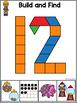 Pattern Block Number Mats (Pattern Block Activities)