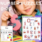 Pattern Blocks Numbers (0-10) Puzzles