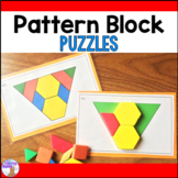 Pattern Block Puzzles Math Center