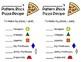 Pattern Block Shape Pizzas