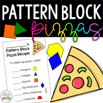 Pattern Block Shape Pizzas