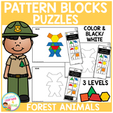 Pattern Block Puzzles: Animals - Forest