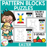 Pattern Block Puzzles: Easter