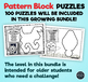 Pattern Block Puzzles • Math Shape Puzzles • ADVANCED WHOLE IMAGE ONLY